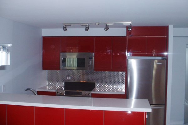 FUNKY RED KITCHEN