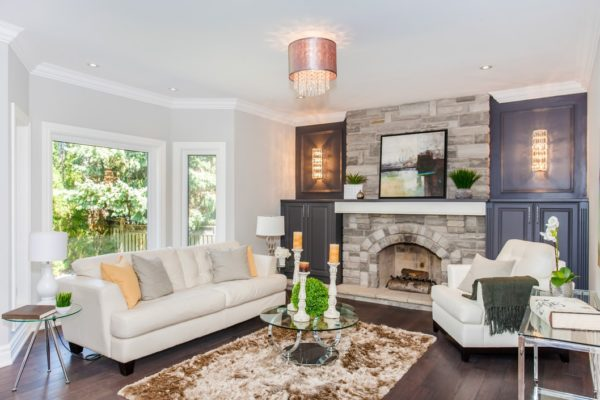 Family-Room-With-Stone-Fireplace