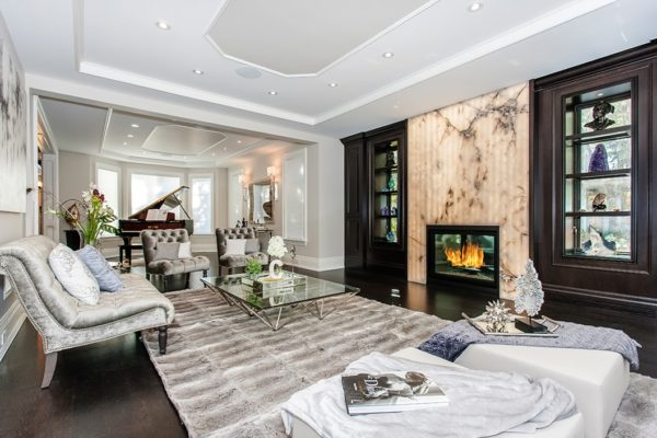 Living-Room-With-Granite-Fireplace