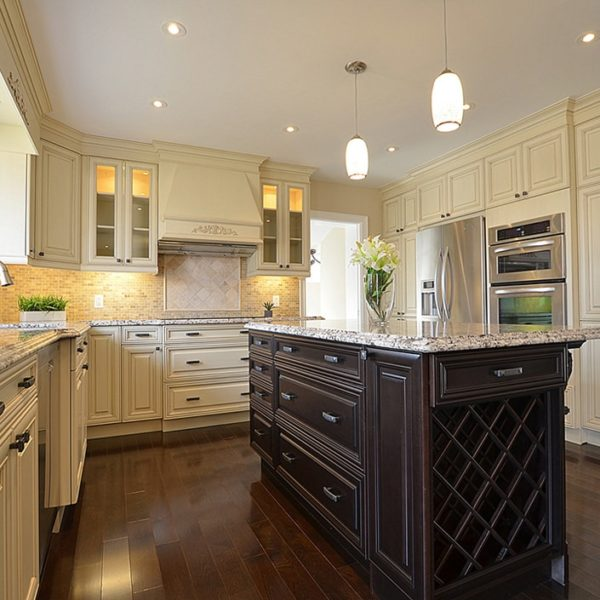 White-Cabinetry-&-Contrasting-black-Marble-Countertops