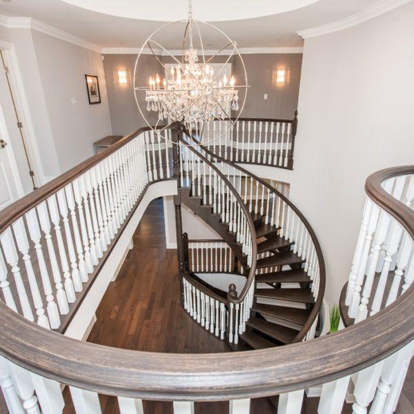 White-Stairscase-Oakville