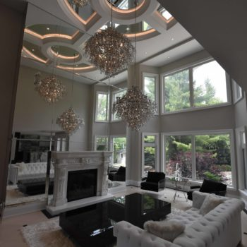 Home ceiling renovation - Custom homes and Complete renovation by Maki Construction in Mississauga