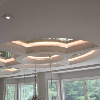 Glass top home ceiling - Custom homes and Complete renovation by Maki Construction in Mississauga
